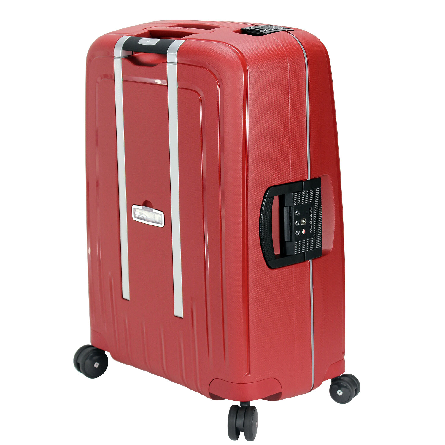 Spinner 4 Samsonite S'cure Green Valise Metallic Dlx Roulettes Cm 81 H9WDeE2IY