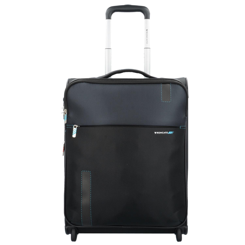 Valise cabine souple Roncato Speed 55 cm Noir 7IyazdH