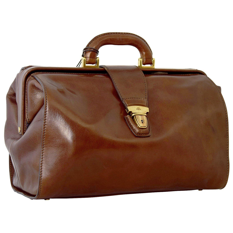 Piquadro Blue Square sac médecin - Sacoche docteur cuir 36 cm mahagonibraun 6YdS5y