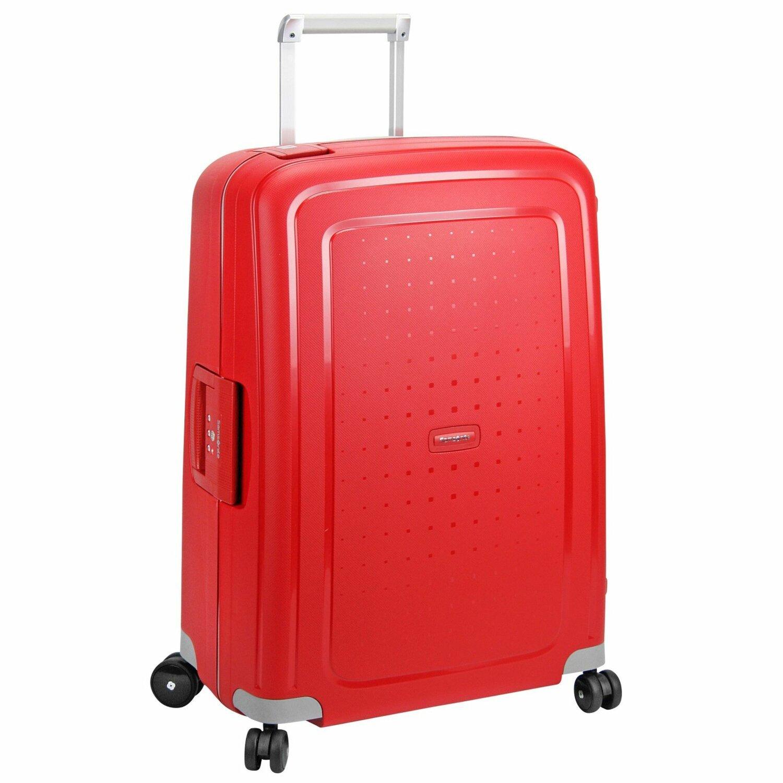 Valise rigide Samsonite S'Cure 81 cm Crimson Red rouge 4vvgj0