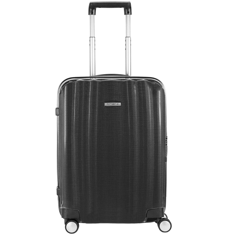 Valise cabine rigide Samsonite Lite Cube 55 cm Graphite noir 6mHxfbY