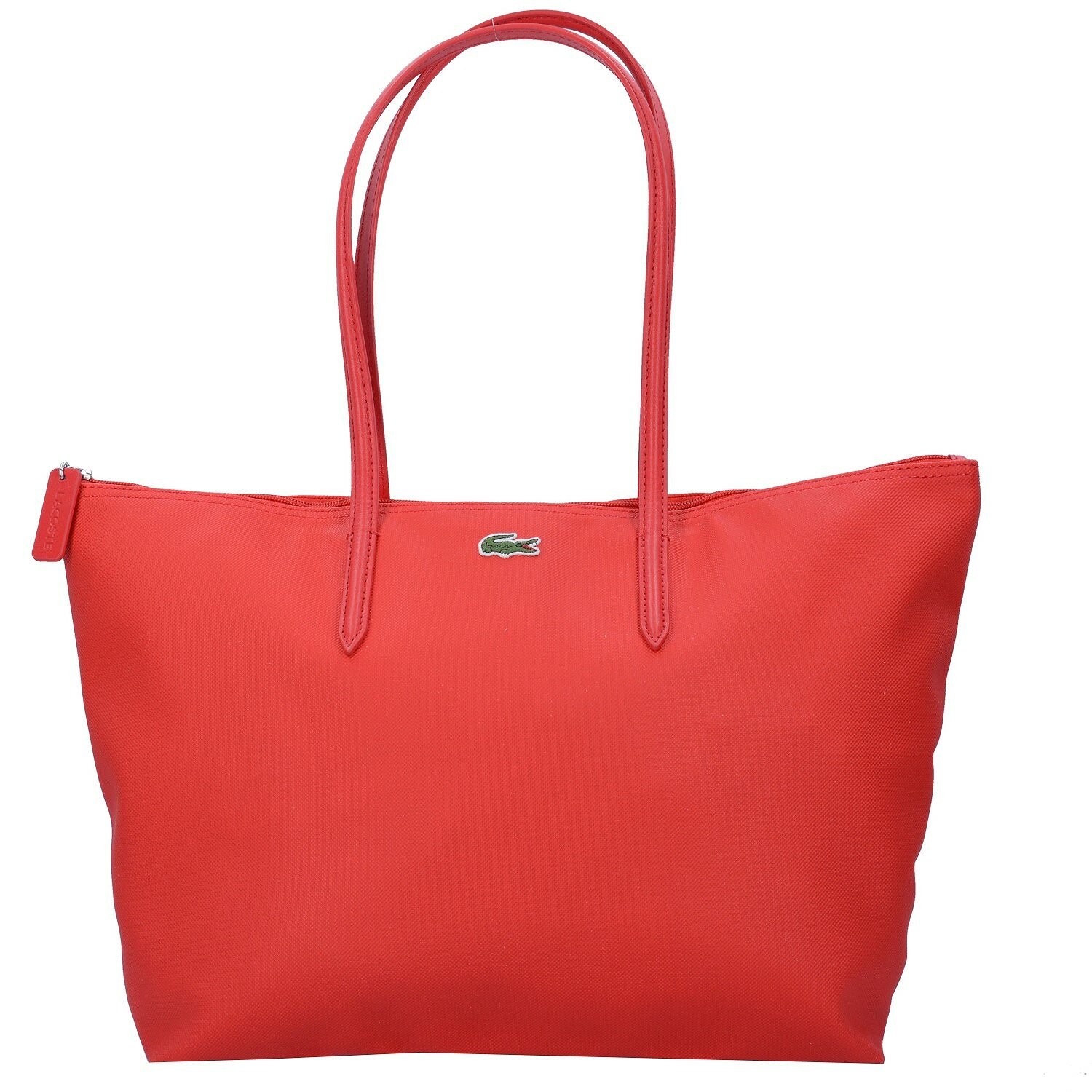 Lacoste Sac Femme L1212 Concept L Sac à main Fourre-tout 47 cm High Risk Red lih04