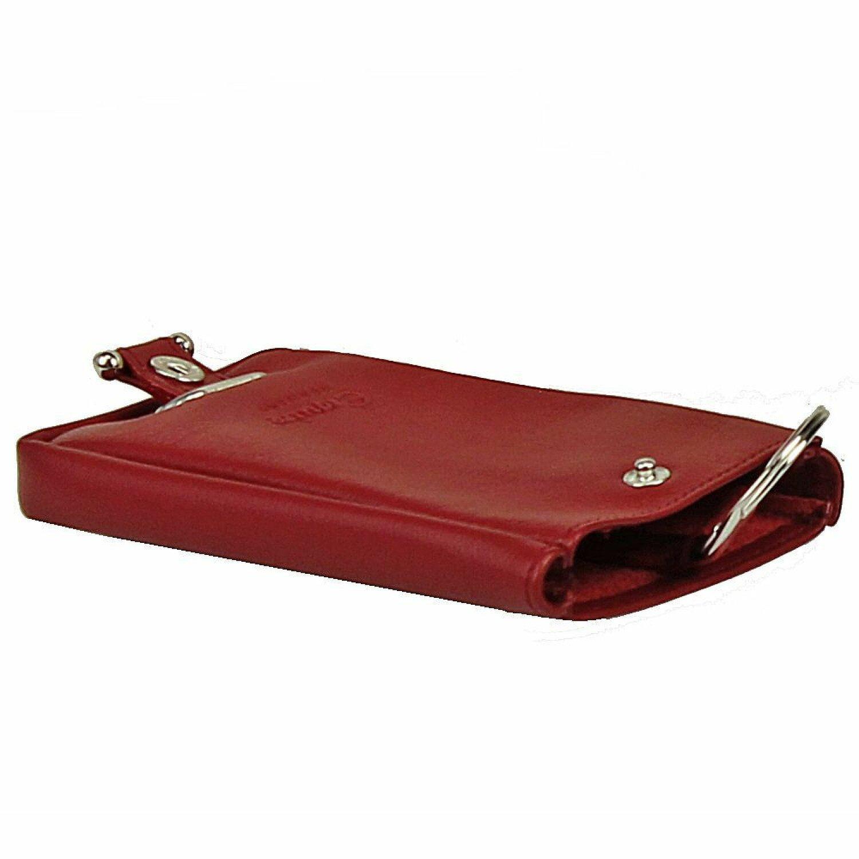 Esquire Logo Étui porte-clés cuir 8 cm Rot   sur PREMIUM-MALL 8354c0dba4a