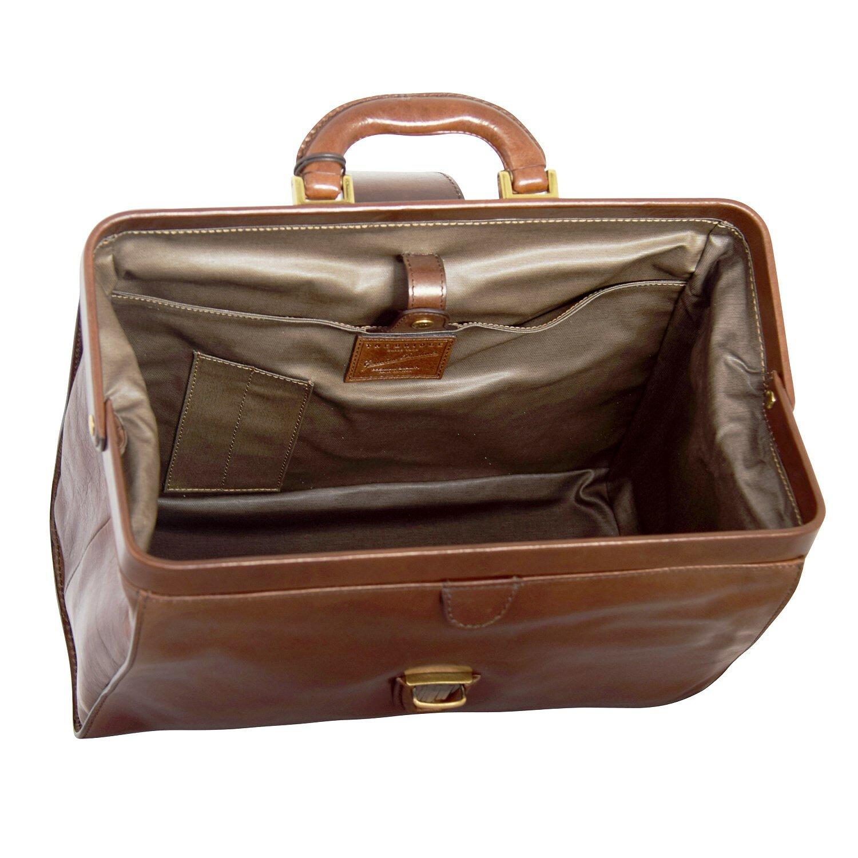 Piquadro Blue Square sac médecin - Sacoche docteur cuir 36 cm mahagonibraun cpwizIwqa