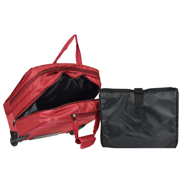 Dermata Laptop Mallette Compartiment Roulettes 5 Noir 44 2 Cm I DYe9bHEWI2